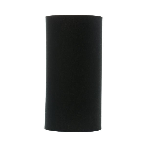 Black Tall Drum Lampshade