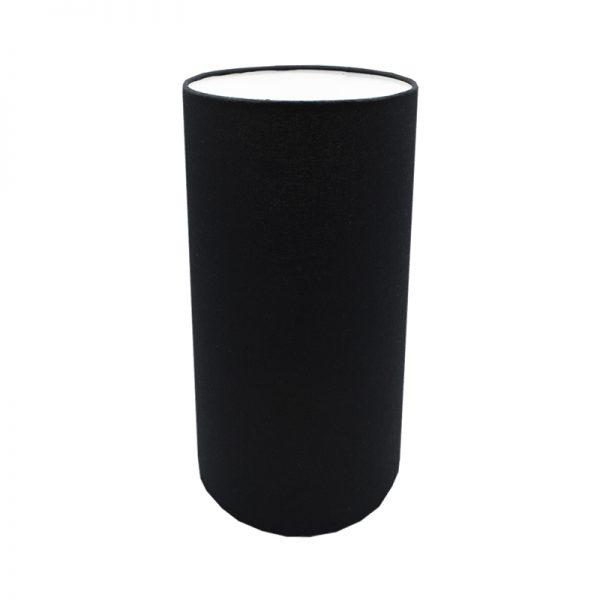 Black Tall Drum Lampshade