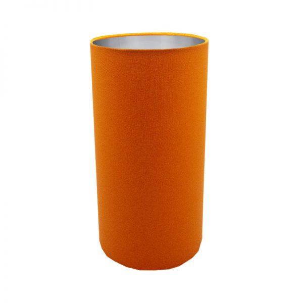 Bright Orange Tall Drum Lampshade