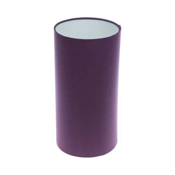 Bright Purple Tall Drum Lampshade