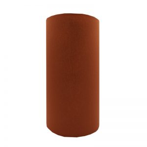 Burnt Orange Tall Drum Lampshade