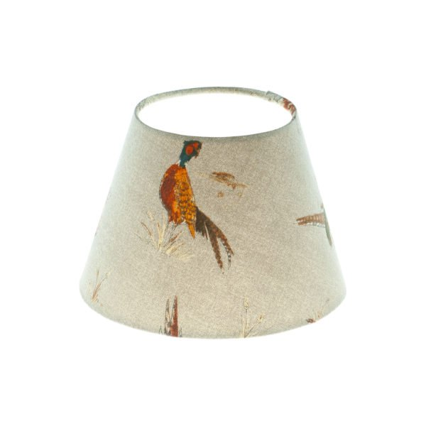Country Pheasant Empire Lampshade