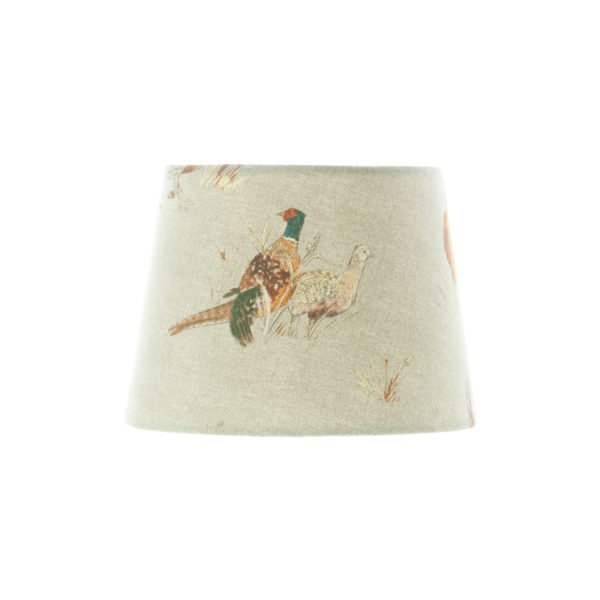 Country Pheasant French Drum Lampshade