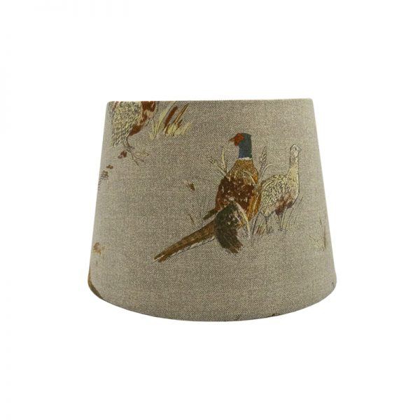 County Pheasant French Drum Lampshade