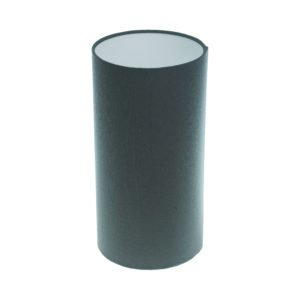 Dark Grey Tall Drum Lampshade
