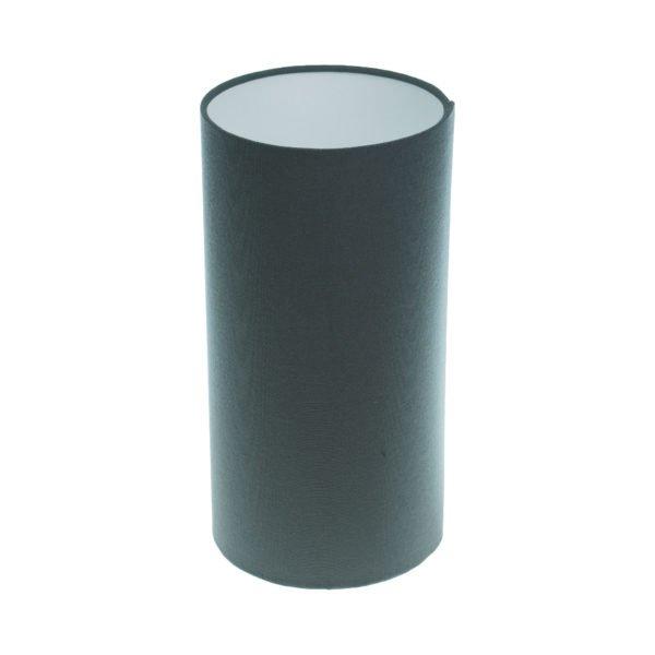 Dark Grey Tall Drum Lampshade