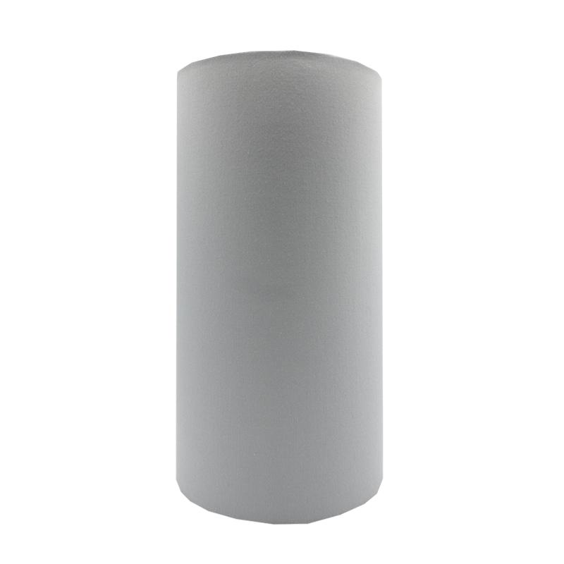 Light Grey Tall Drum Lampshade, Large Drum Lamp Shade Grey