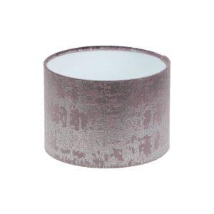 Mercury Lavender Velvet Drum Lampshade