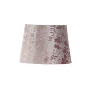Mercury Purple Velvet French Drum Lampshade
