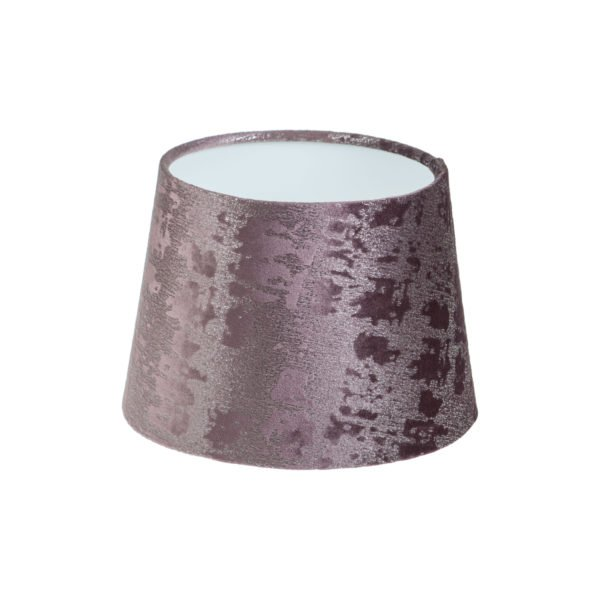 Mercury Purple Velvet French Drum Lampshade