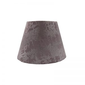 Mercury Lavender Velvet Empire Lampshade