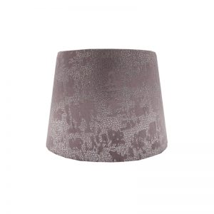 Mercury Lavender Velvet French Drum Lampshade