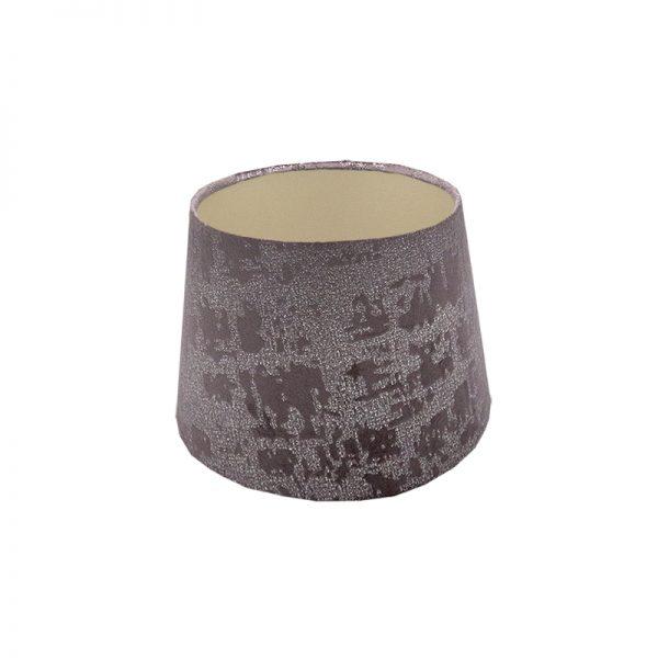 Mercury Lavender Velvet French Drum Lampshade