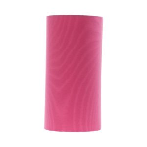 Sorbet Bright Pink Satin Tall Drum Lampshade