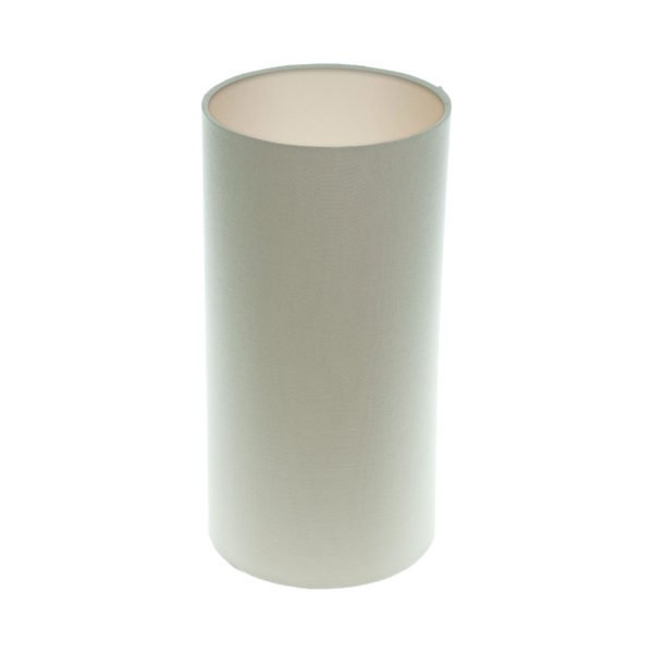 Stone Tall Drum Lampshade Champagne Inner