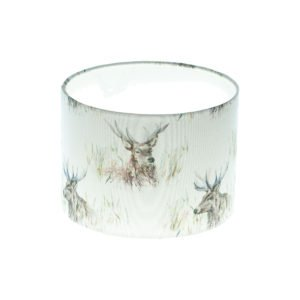 Wallace Stag Drum Lampshade