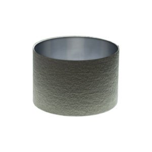 Alchemy Slate Drum Lampshade Brushed Silver Inner