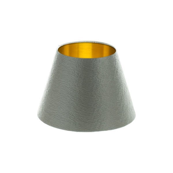 Alchemy Slate Empire Lampshade Brushed Gold Inner