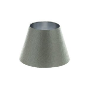 Alchemy Slate Empire Lampshade Brushed Silver Inner