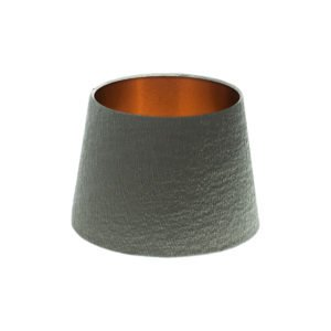 Alchemy Slate French Drum Lampshade Brushed Copper Inner