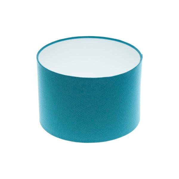 Aqua Blue Drum Lampshade