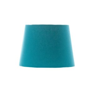 Aqua Blue French Drum Lampshade