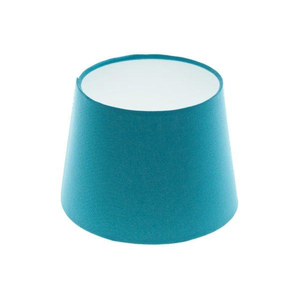 Aqua Blue French Drum Lampshade