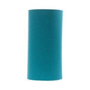 Aqua Blue Tall Drum Lampshade