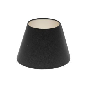 Black Empire Lampshade Champagne Inner