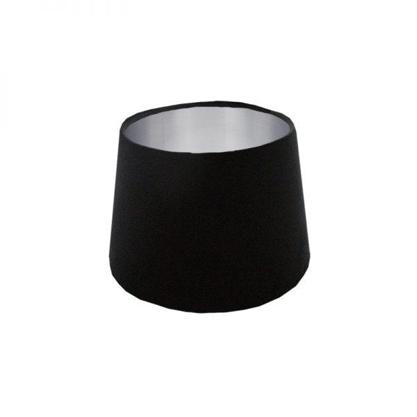 Black Velvet French Drum Lampshade
