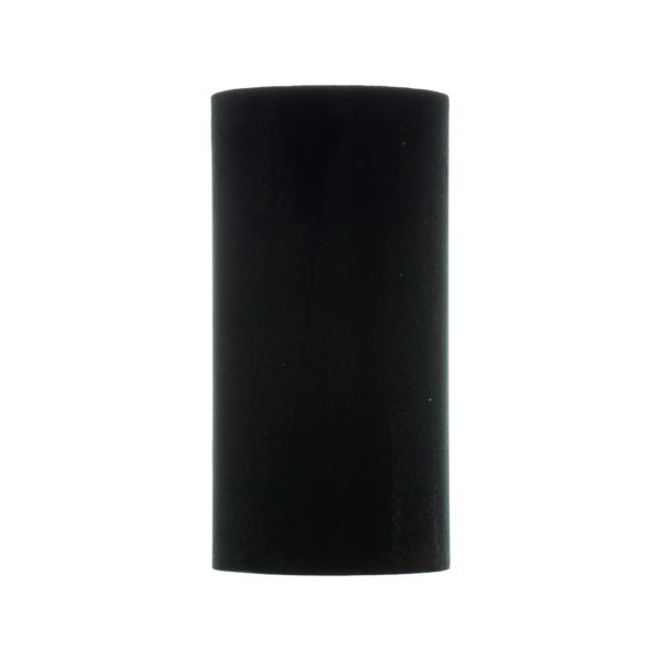 Black Velvet Tall Drum Lampshade