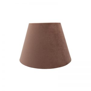 Blush Pink Velvet Empire Lampshade