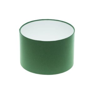 Dark Green Drum Lampshade