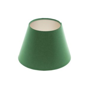 Dark Green Empire Lampshade Champagne Inner