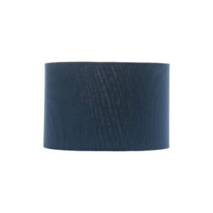 Bright Navy Blue Drum Lampshade