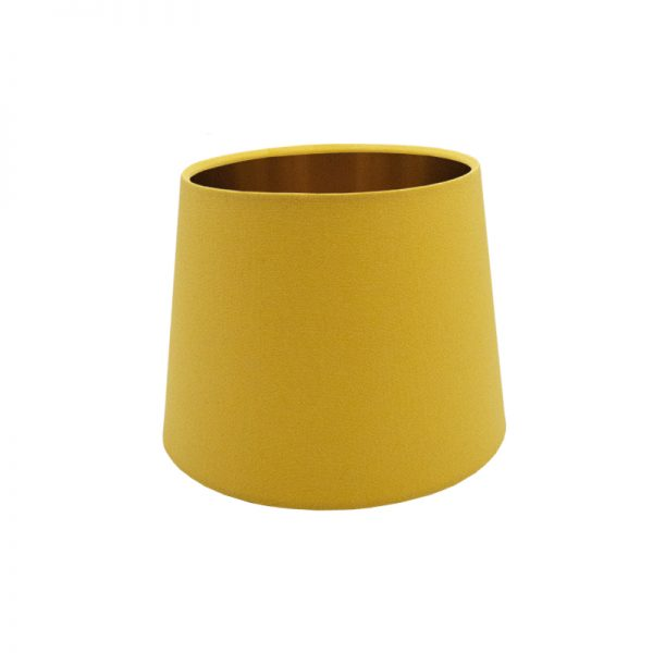 Bright Yellow French Drum Lampshade