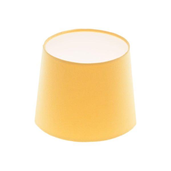 Bright Yellow French Drum Lampshade