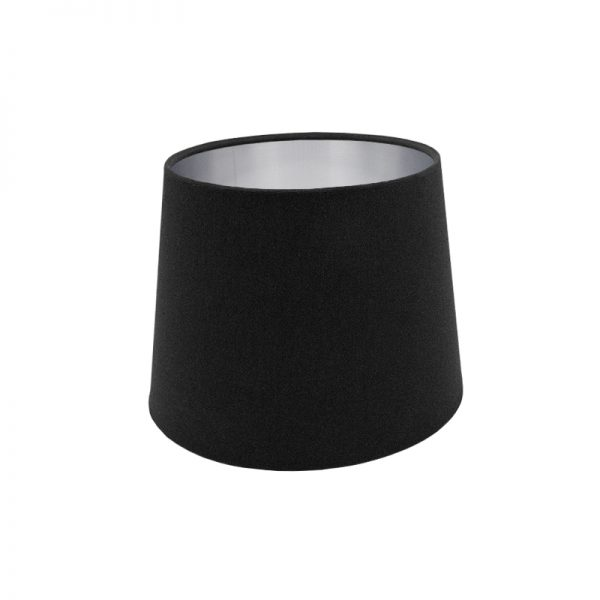 Black French Drum Lampshade