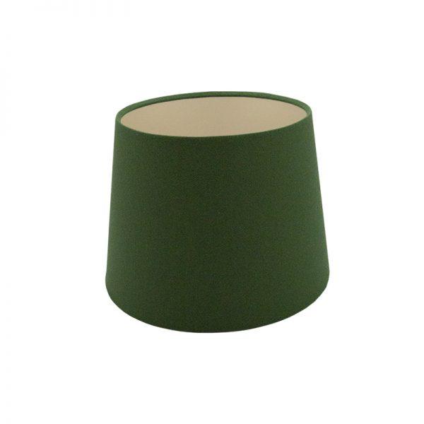 Dark Green French Drum Lampshade