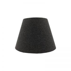 Dark Grey Wool Empire Lampshade