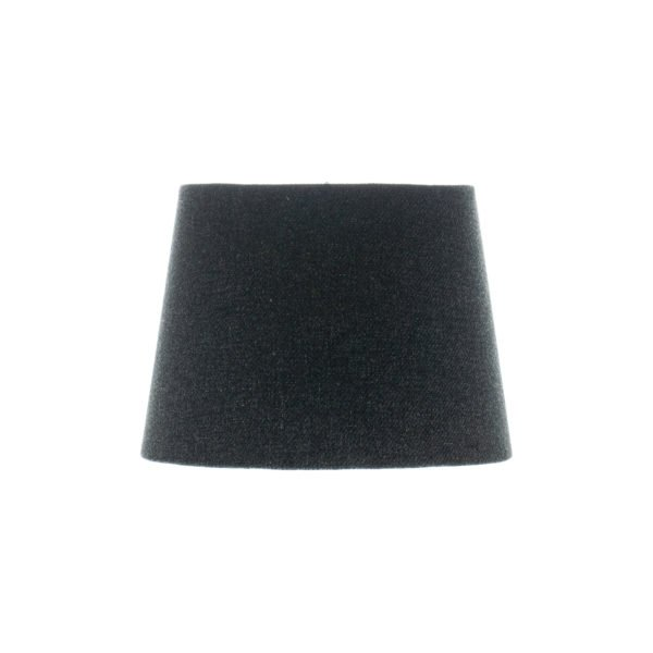 Dark Grey Wool French Drum Lampshade