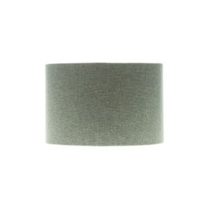 Light Grey Wool Drum Lampshade