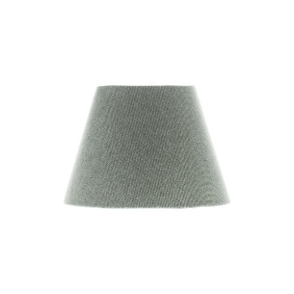 Light Grey Wool Empire Lampshade