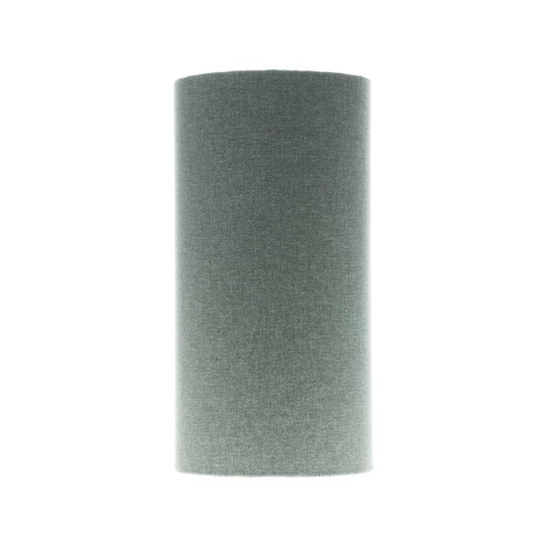 Light Grey Wool Tall Drum Lampshade