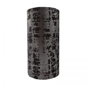 Mercury Black Velvet Tall Drum Lampshade