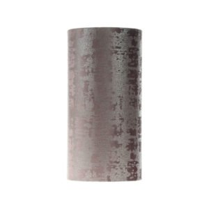 Mercury Lavender Velvet Tall Drum Lampshade