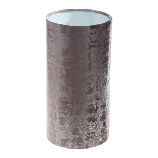 Mercury Lavender Velvet Tall Drum Lampshade