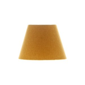 Mustard Yellow Wool Empire Lampshade