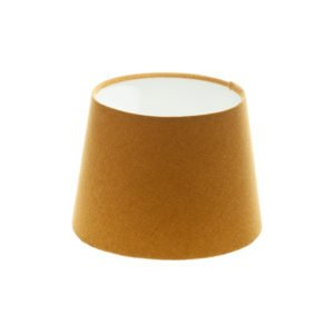 Mustard Yellow Wool French Drum Lampshade