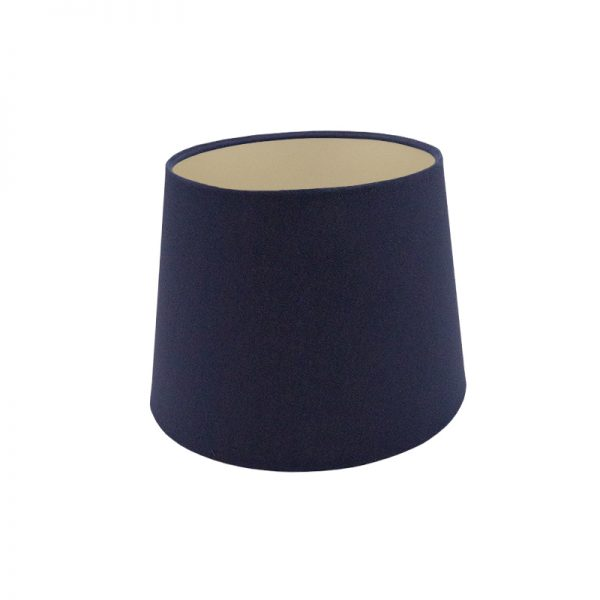 Bright Navy Blue French Drum Lampshade